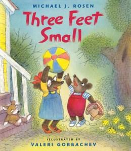 three feet small good little kids book titles