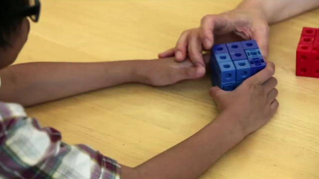 volume of a cube with Child 14