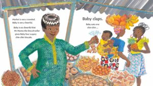 Baby Goes to Market by Atinuke counting books for preschool