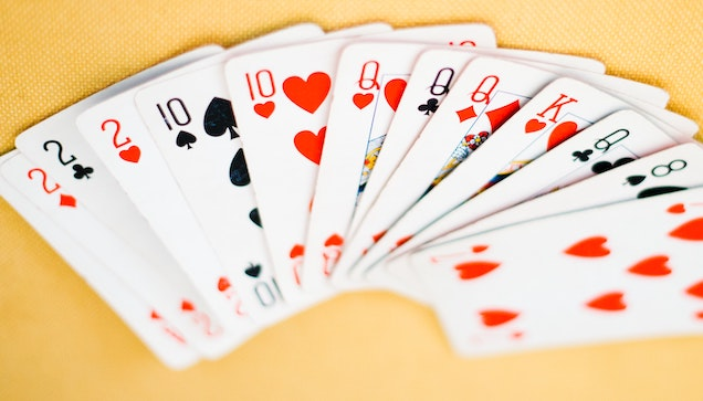 Math Card Games playing cards