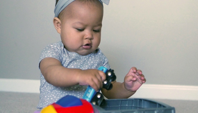 math activities for infants and toddlers