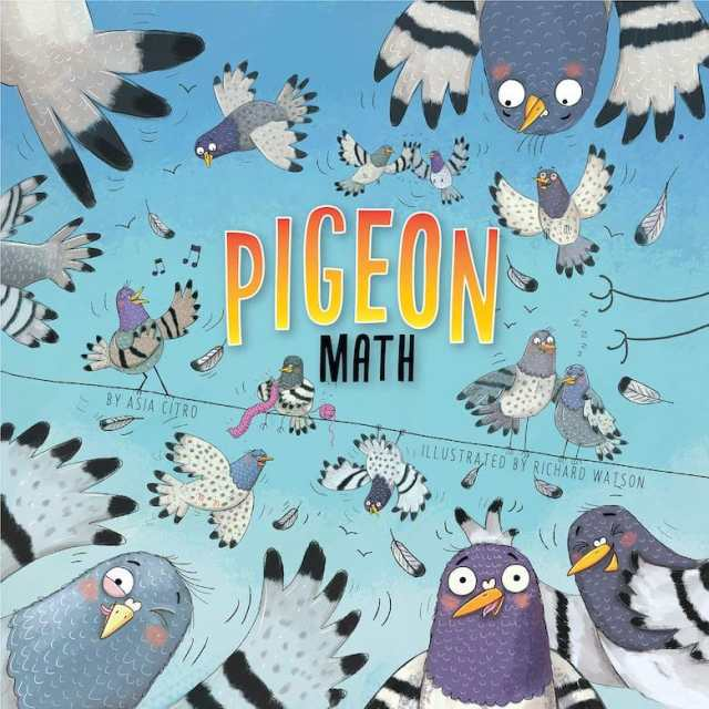 data collection activities, Pigeon Math by Asia Citro