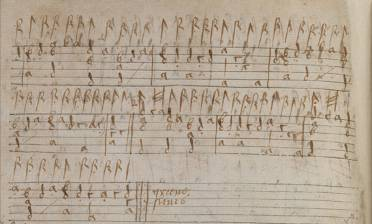 One of the first sources for the tune, in lute tablature as greene sleues in MS. 408/2, an anonymous amateur anthology dated c. 1592–1603.