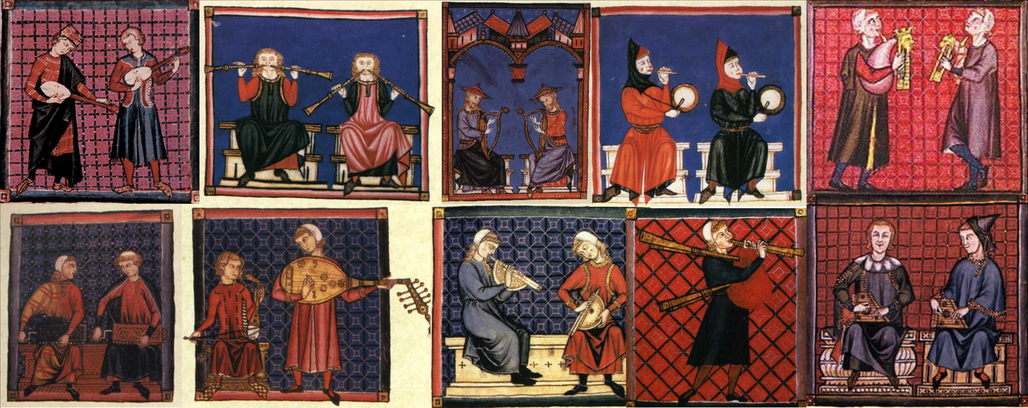 how to write medieval music