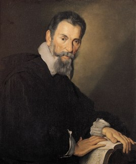 Claudio Monteverdi painted by Bernardo Strozzi, c. 1630.