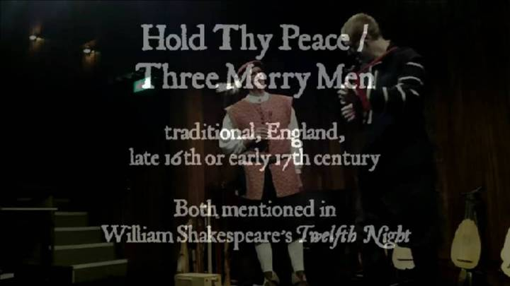 The Night Watch: Holde thy peace / Three merry men. Click picture to play – opens in new window.