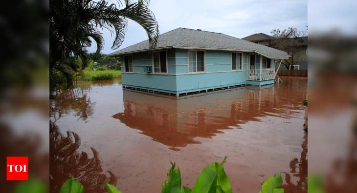 Hawaii's rains, floods cited as examples of climate change