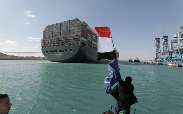 Probe underway, day after cargo ship 'Ever Given' freed in Suez Canal