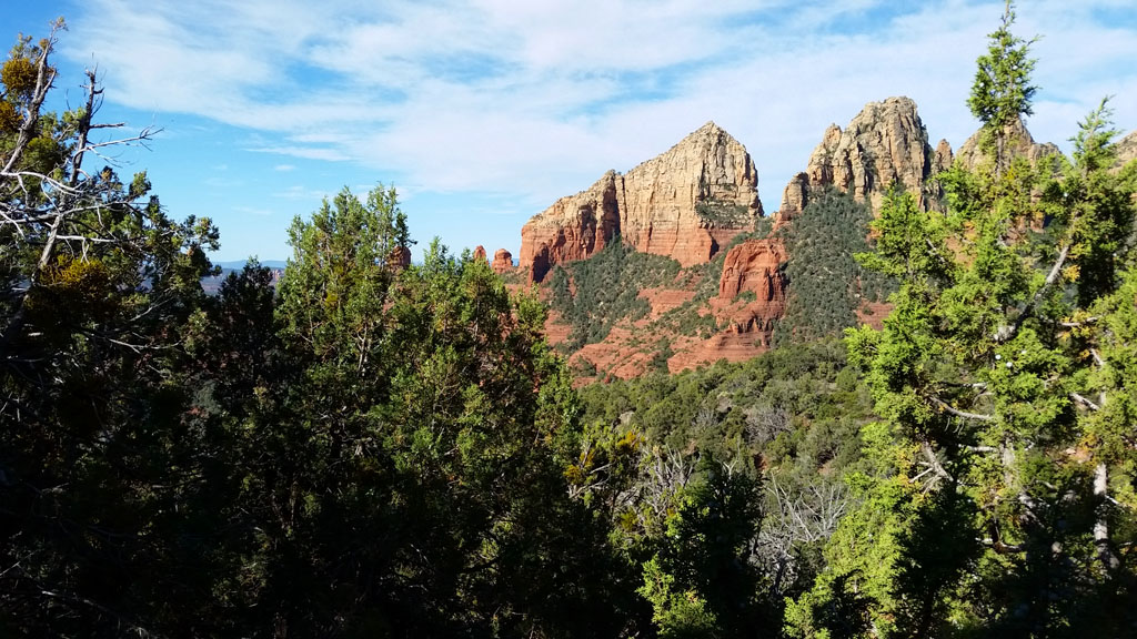 Iconic Views of Red Rocks from Wilson Mountain Trail