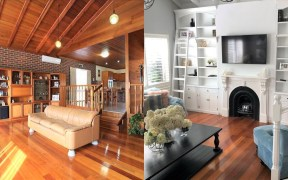 Before and after home-renovation inspiration