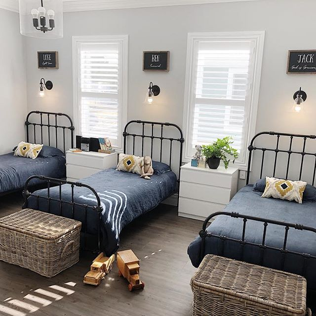 Family-focused design with a French farmhouse twist Manor single beds in black