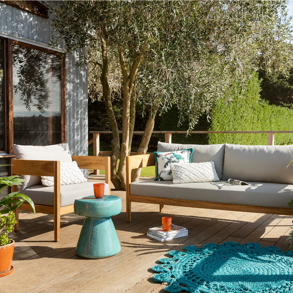 Dress up your deck with the Villa
