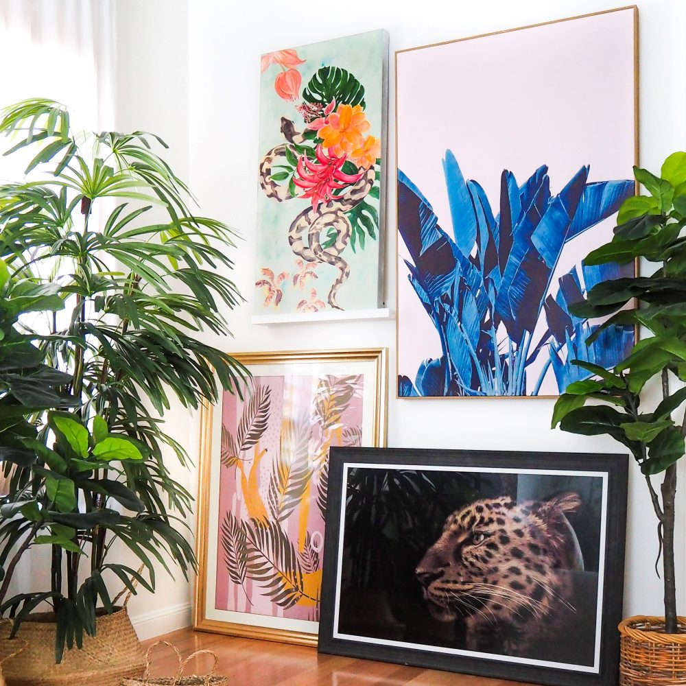 Get the 'Tropical Vibe' in your home with canvases