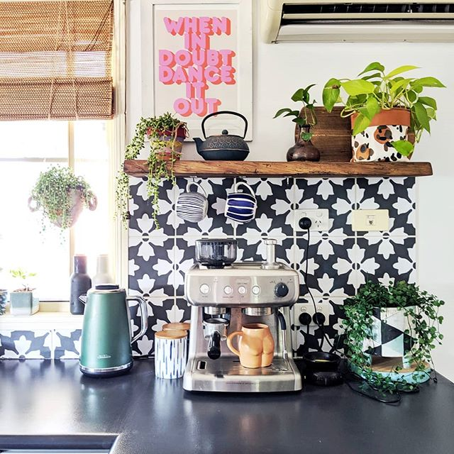 The Hectic Eclectic's Boho Maximalism in the kitchen