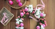 Create a Floral Christmas Wreath