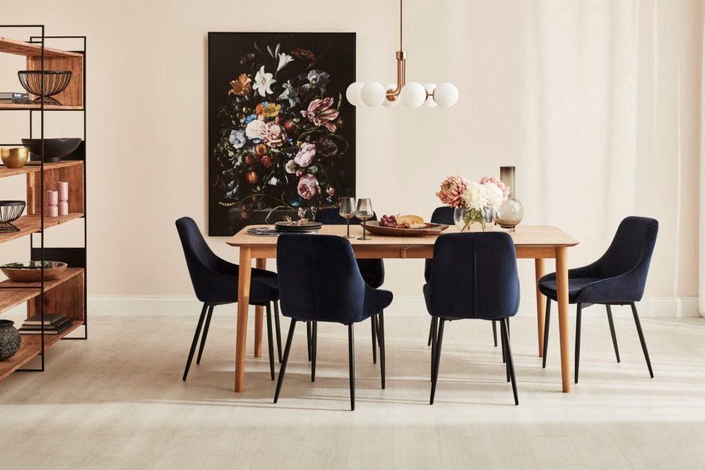 Floral interior design