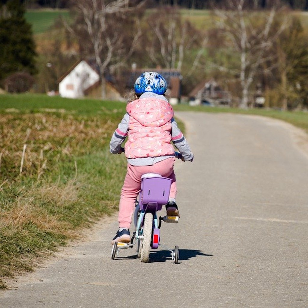 School holiday activities ride a bike