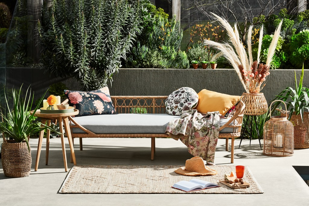 Create a Great Outdoor Space for Good Mental Health with the Byron Day Bed