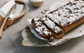 Chef Laura Sharrad's Scrumptious Summer Recipes with caramel slice