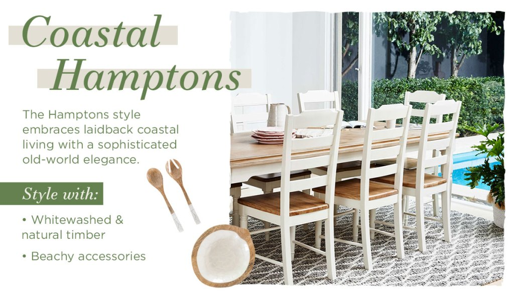 Delicious Dining Room Styling Inspiration coastal hamptons