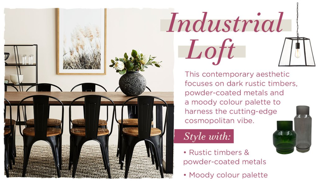 Delicious Dining Room Styling Inspiration industrial loft