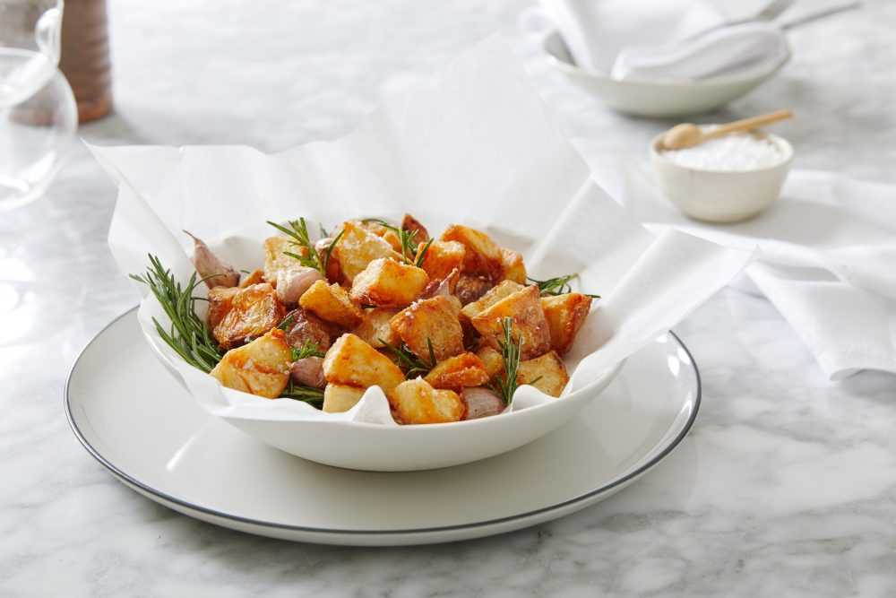 Christmas Recipes from Chef Laura Sharrad fried potatoes