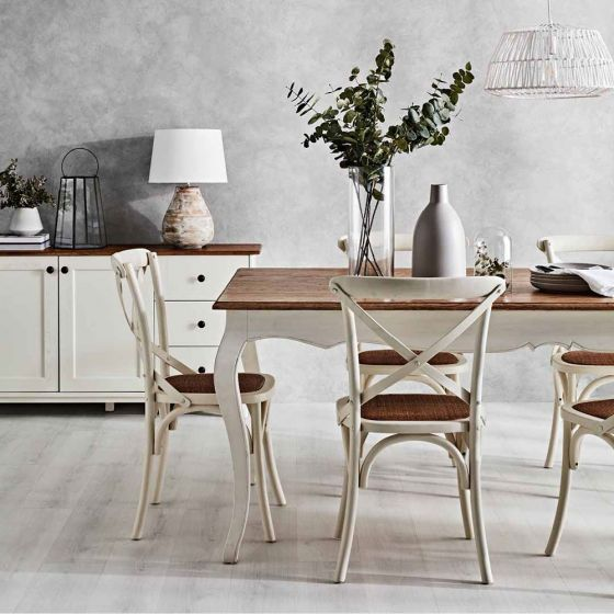Laidback & Luxurious French Provincial Style provincial dining table