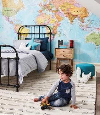 Kids' bedroom makeover manor bed
