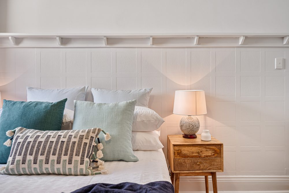 Update Your Period Home Without Losing its Charm bedroom with picture rail