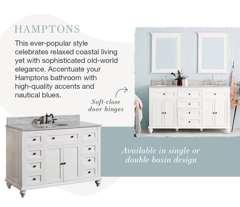What's Your Style: Bathrooms hamptons