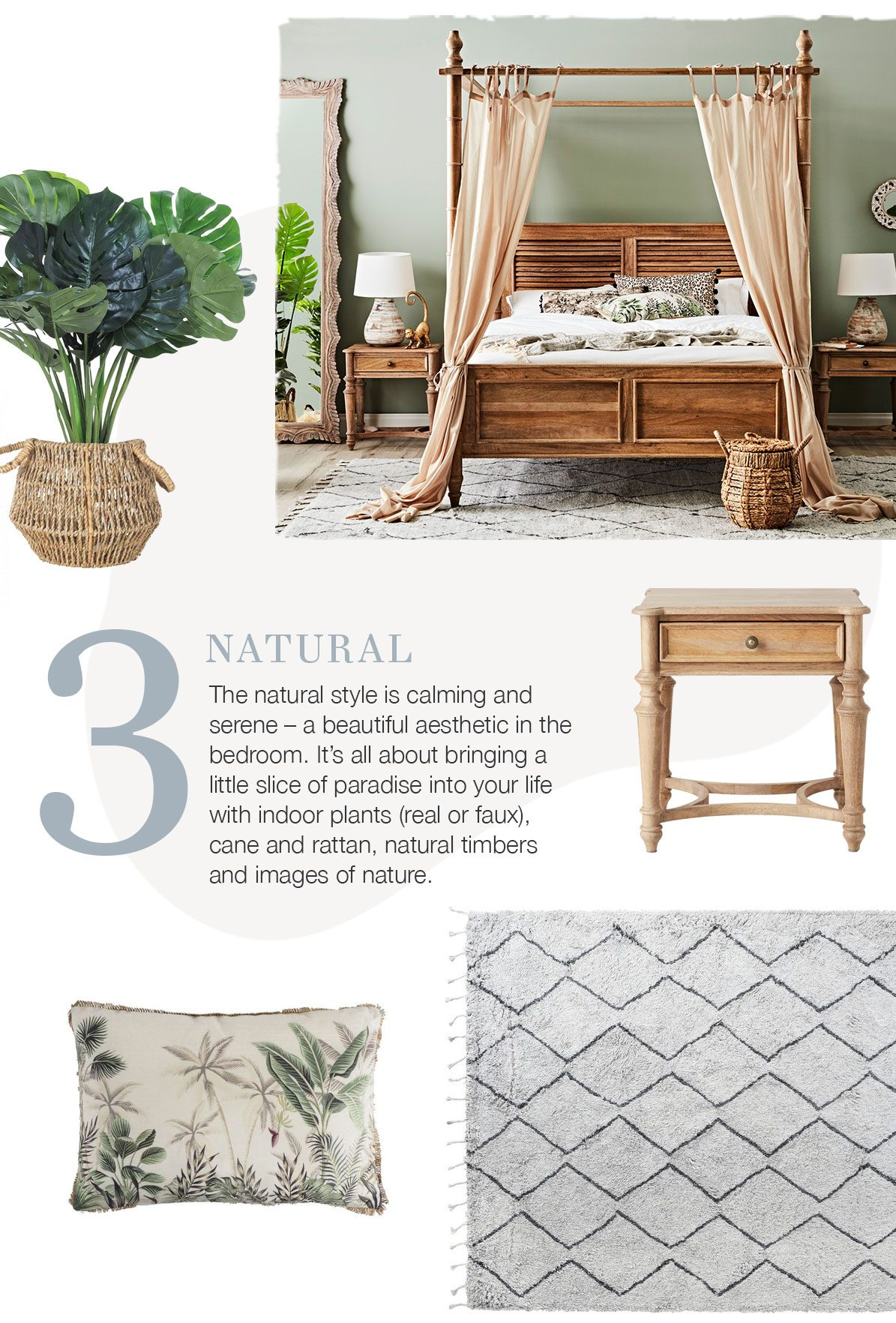 3 Dreamy Decorating Ideas for Your Bedroom - natural