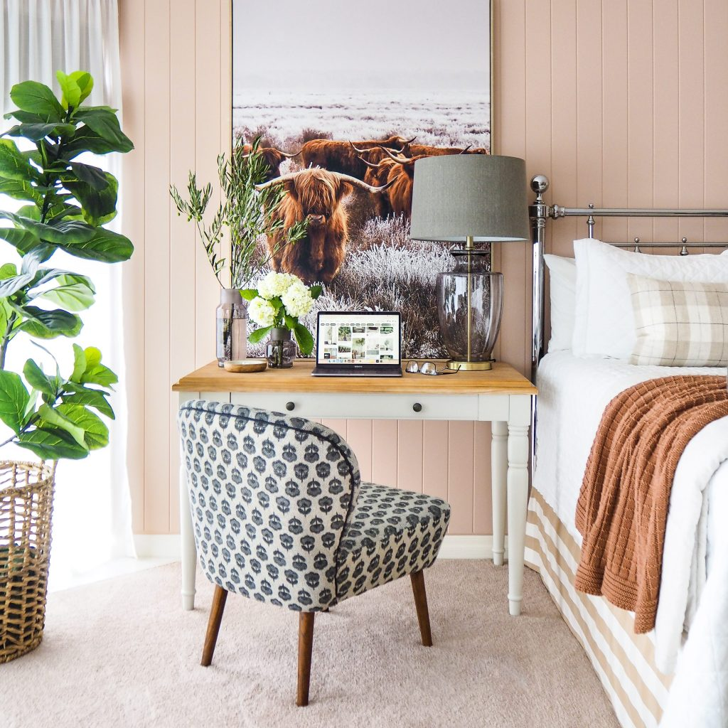 Bedroom Office Decorating Ideas - desk