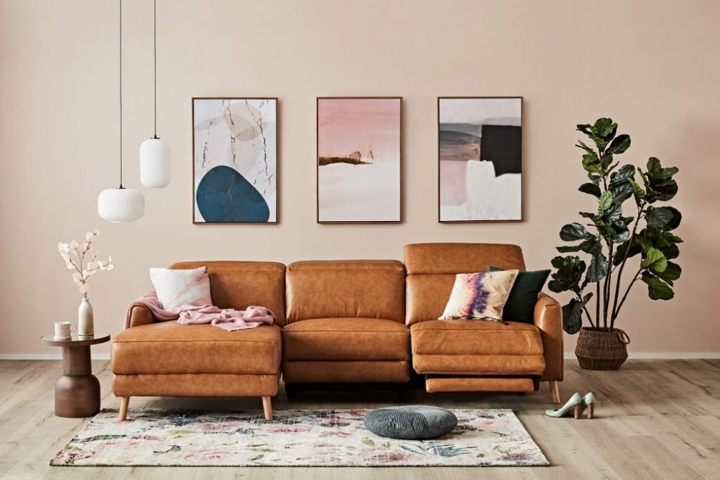 How to Create a Gallery Wall - triptych