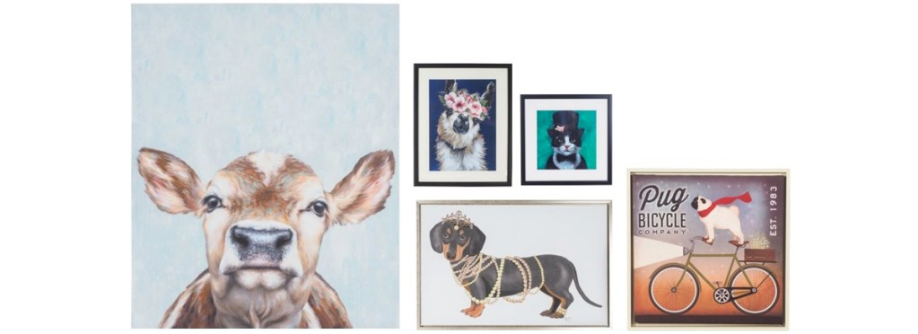 How to create a gallery wall - be playful