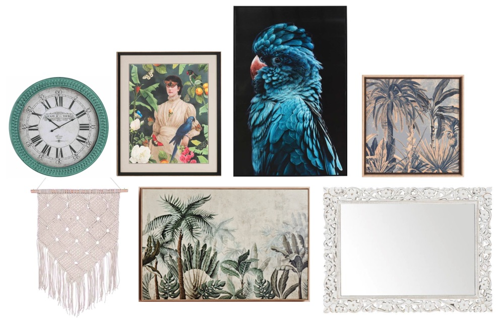 How to create a gallery wall - eclectic