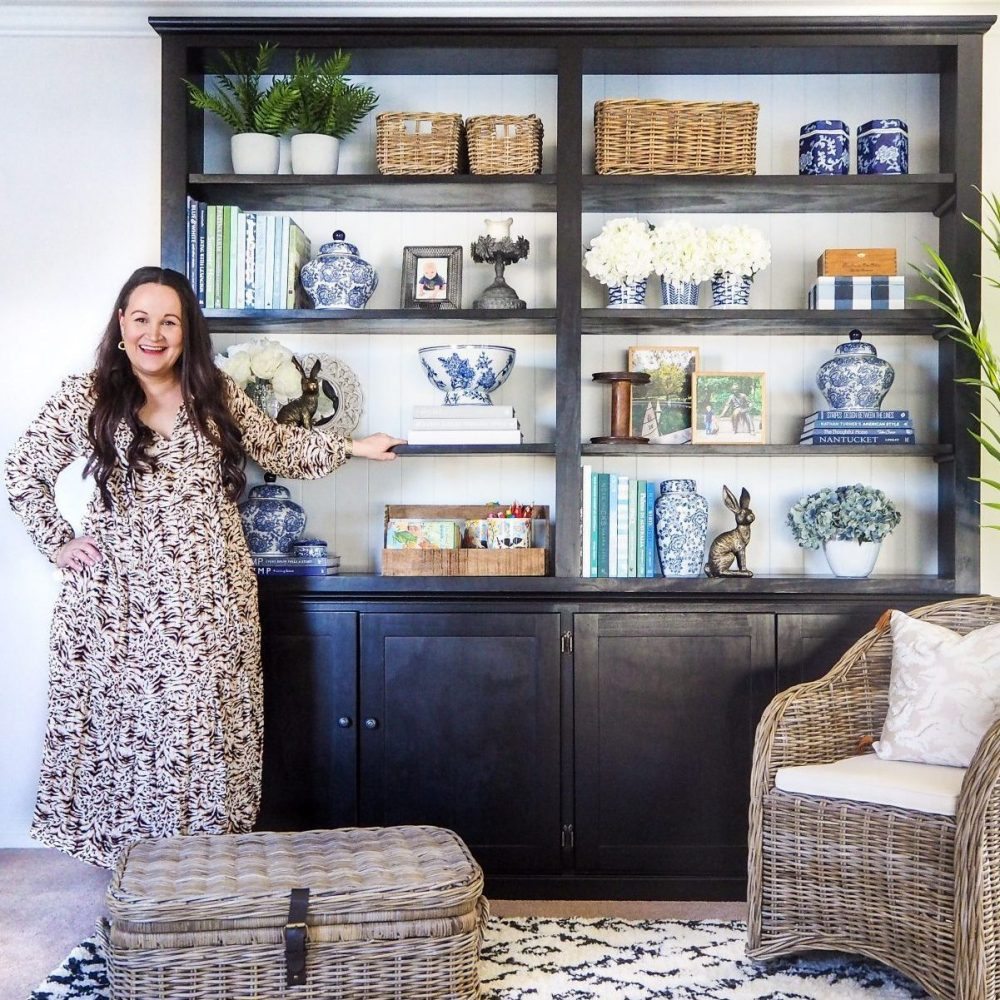 6 Savvy Storage Solutions with library shelving