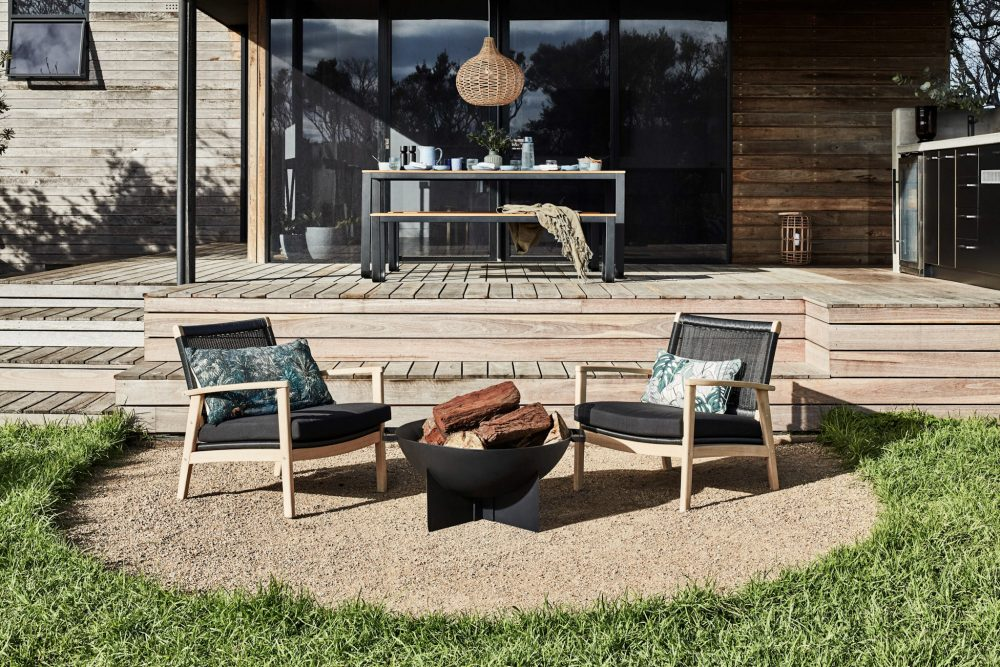 6 Summer Styling Trends by Heather Nette King with the fire pit
