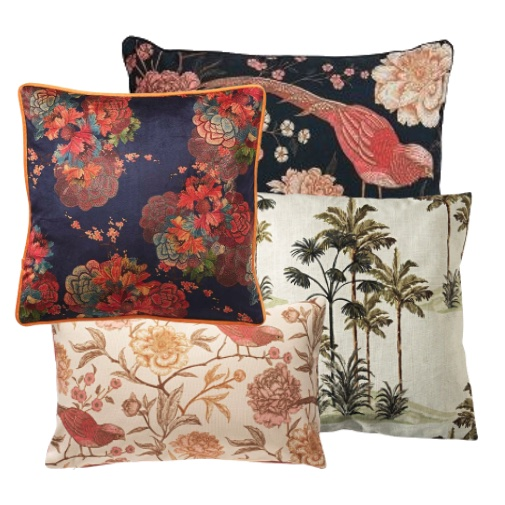 The Timeless Chic of Chinoiserie cushions