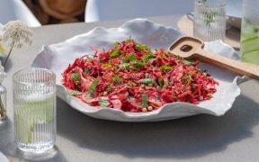 Raw Beetroot, Carrot & Fennel Salad by Chef Alison Lambert