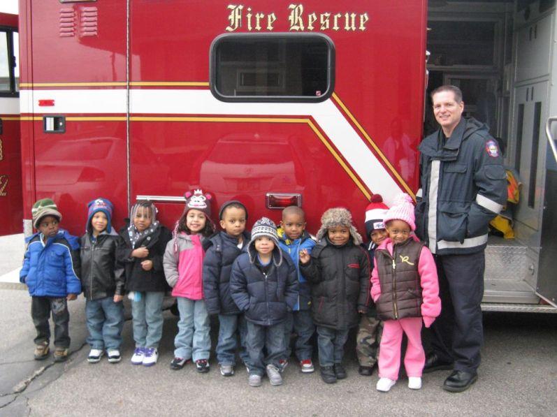 Richmond Heights Fire Department Visit