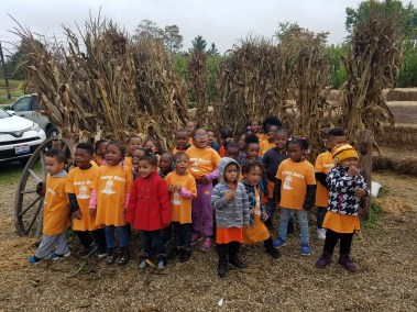 Preschool Pumpkin Field Trip