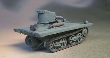Vickers Light Amphibious tank used by Dutch, KNIL Army + others.