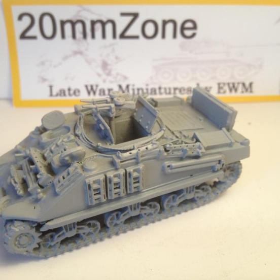 Sherman M4A4 based ARV mark I loads of detail 10 min blitz build