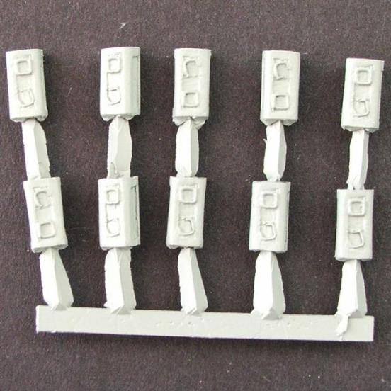 6 pounder ATG ammunition box's