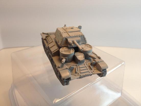 British A9 Cruiser tank in rapid build format