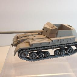 Archer 17 pounder Self propelled gun with interior detailing