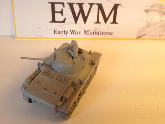 "M22 light tank or ""Locast"" airbourne tank. EWM 2 minute build"