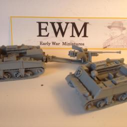 2 x Loyd carriers with 6 pounder  ATG and 4 crew, 2 drivers,
