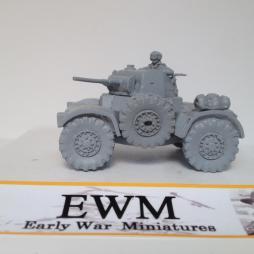 Damiler Armoured car + 2 crewman optional spare wheel + stowage