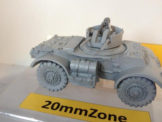 Staghound armoured car T-17E2 (AA) with  anti-aircraft twin .50